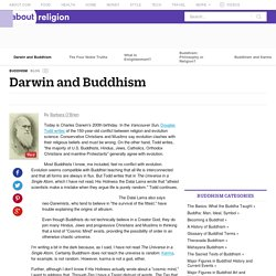Darwin and Buddhism