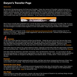 Daryen's Traveller Page