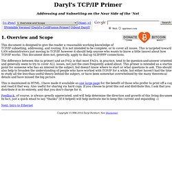 Daryl's TCP/IP Primer