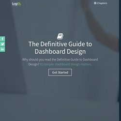 Dashboard Design Guide: The Definitive How-To for Dashboard Design