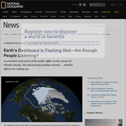 Earth's Dashboard Is Flashing Red—Are Enough People Listening?