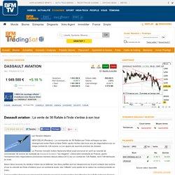 Dassault aviation : La vente de 36 Rafale à l'Inde s'enlise à son tour