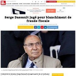 Serge Dassault jugé pour blanchiment de fraude fiscale