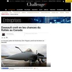 Dassault croit en les chances du Rafale au Canada