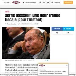 Serge Dassault jugé pour fraude fiscale (pour l'instant)