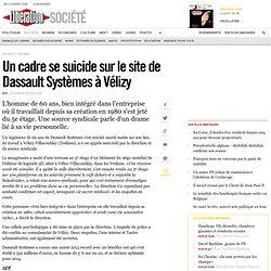 Un cadre se suicide sur le site de Dassault Systèmes à Vélizy