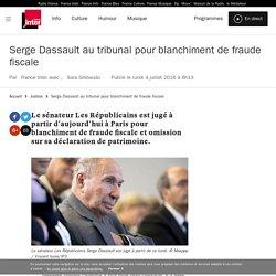 Serge Dassault au tribunal pour blanchiment de fraude fiscale