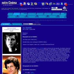 Joe DASSIN : Biographie et filmographie