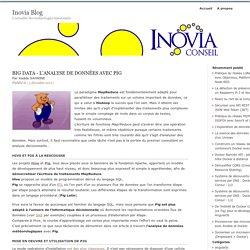 Big data - L'analyse de données avec Pig : Inovia Blog