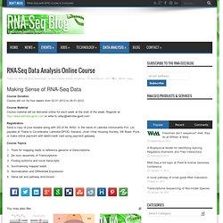 RNA-Seq Data Analysis Online Course