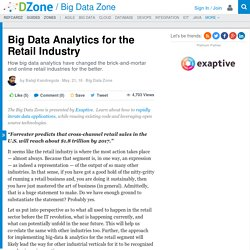 Big Data Analytics for the Retail Industry