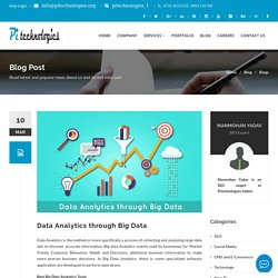Data Analytics through Big Data