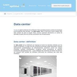 Data center et Google