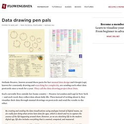 Data drawing pen pals