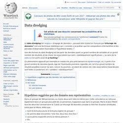 Data dredging