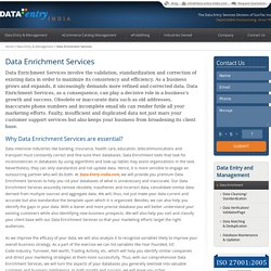 Data Enrichment Services