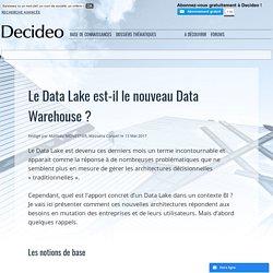 Le Data Lake est-il le nouveau Data Warehouse ?