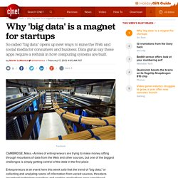 Why 'big data' is a magnet for startups | Cutting Edge