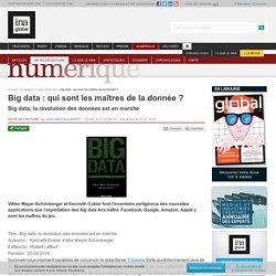 Big data : qui sont les maîtres de la donnée