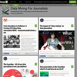 Data Mining For Journalists
