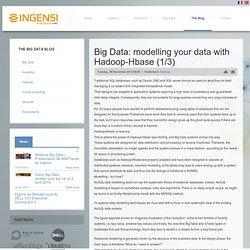 Big Data : comment modéliser ses données avec Hadoop-Hbase?(1/3)