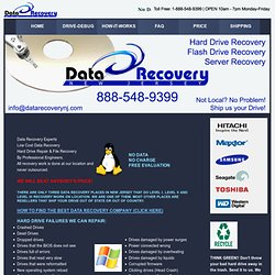 Data Recovery New Jersey | Home