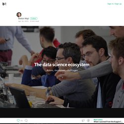 The data science ecosystem – Medium
