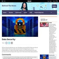 Data Security - Classroom - BTN