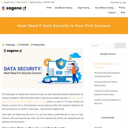 Must Read If Data Security Is Your First Concern