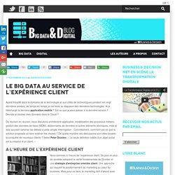 Le Big Data au service de l'expérience client