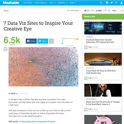 7 Data Viz Sites to Inspire Your Creative Eye