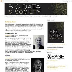 Big Data & Society: Editorial Team