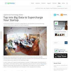 Tap into Big Data to Supercharge Your Startup