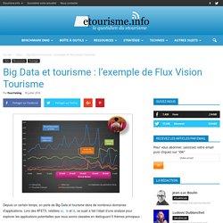 Big Data et tourisme : l'exemple de Flux Vision Tourisme