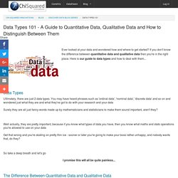 Data Types 101