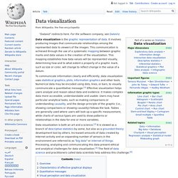 Data visualization - Wikipedia