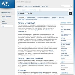 Linked Data - W3C