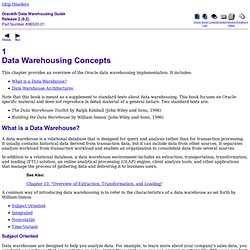 Data Warehousing Concepts