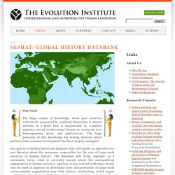 SESHAT: Global History Databank