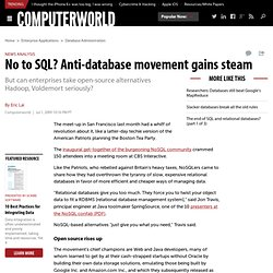 Anti-database movement gains steam