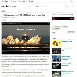 Il database con più di 10.000 filmati senza copyright