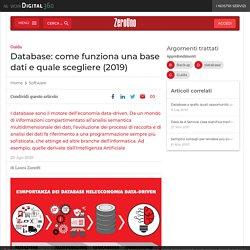 Database: come funziona una base dati e quale scegliere