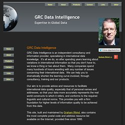 GRC Database Information - Expertise in Global Data