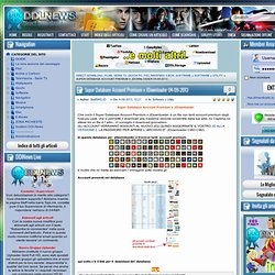 Super Database Account Premium x JDownloader 04-09-2013 » Direct Download News