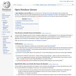 Open Database License