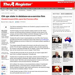 CIA ups stake in database-as-a-service firm