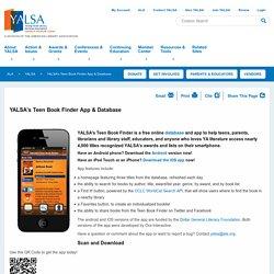 YALSA's Teen Book Finder App & Database