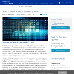 Database: storia, significato, funzioni e modelli di database - IONOS