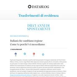 Il datablog del Corriere della Sera