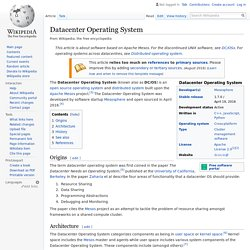 Datacenter Operating System - Wikipedia